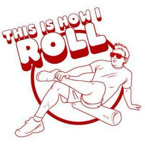 It's cool to foam roll